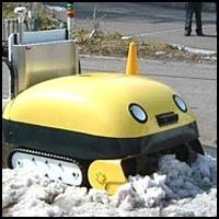 Robot Snow Eater