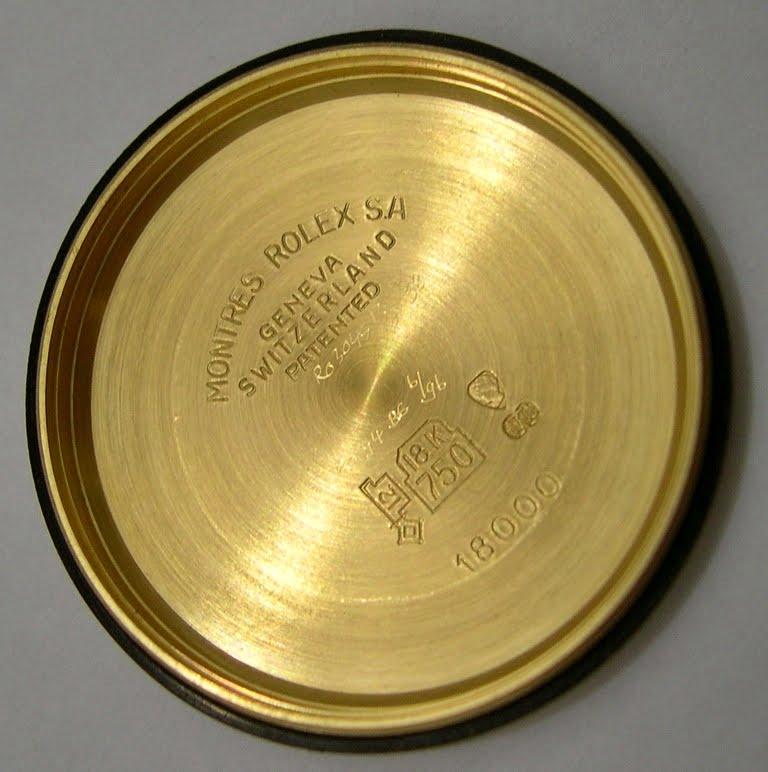 K Watch Rolex Day Date 18038 SOLD