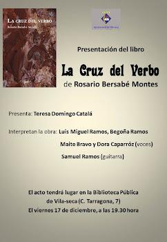 Cartel de presentación en Vilaseca (Tarragona)