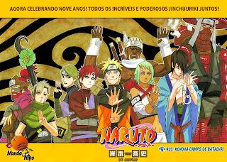 Naruto Mangá 420 (Colorido)