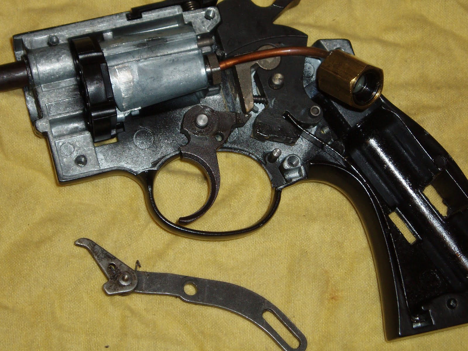 Another Airgun Blog Emergency Christmas Repair On A