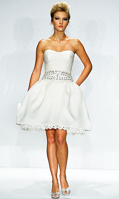 Wedding Dress Short on Wedding Inspiration  Simple Wedding Dress Sleeves