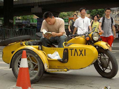 Unusual taxi around the world 24