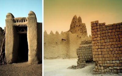 Amazing Buildings Swallowed by the Desert