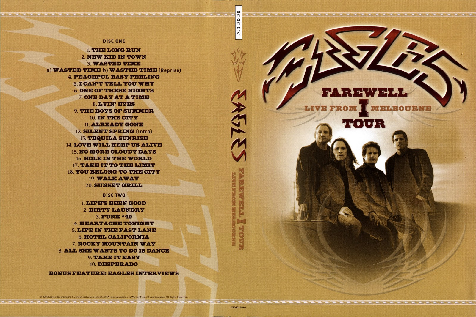 Image Result For Eagles Farewell Tour Live From Melbourne Amazon Com