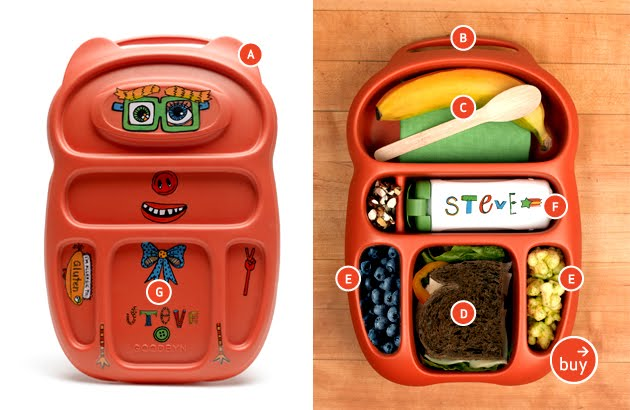 be brave keep going 5 lunch boxes perfect for muffin tin. Black Bedroom Furniture Sets. Home Design Ideas