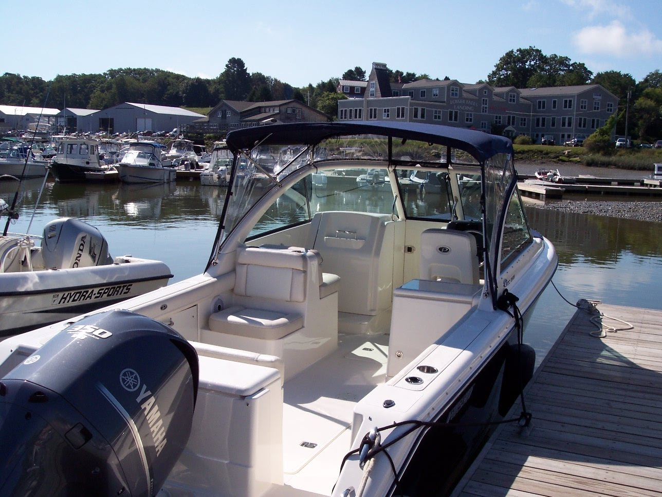 It is finally here, the new 26' Pursuit Dual Console.