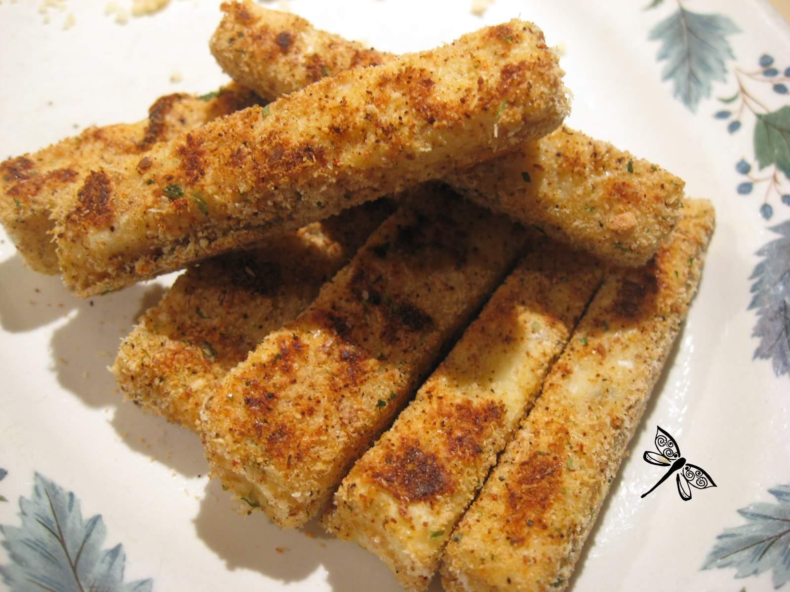 Libellule et ses spatules b tonnets croustillants de tofu - Cuisiner le tofu ferme ...