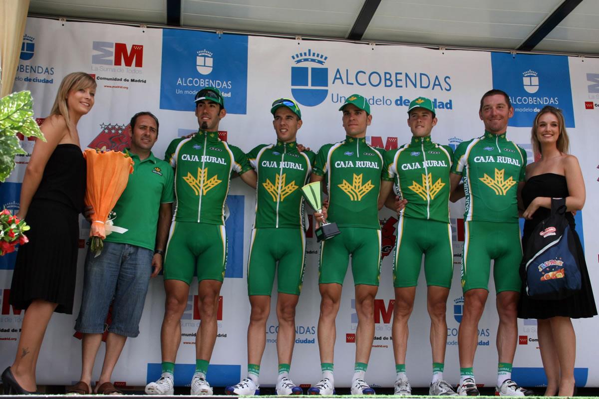 Equipo ciclista caja rural vuelta a madrid 2010 for Oficinas de caja rural en madrid