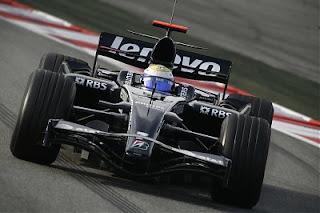 Nico Rosber na jučerašnjem testiranju u Barceloni