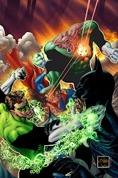 batman y superman vs green lantern