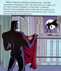 Batman descubre a Clark