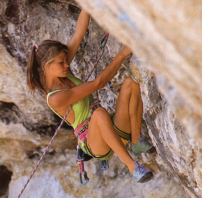 French Rock Climber Isabella Patissier