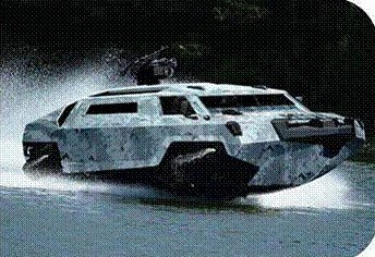 High Speed Amphibious Vehicle