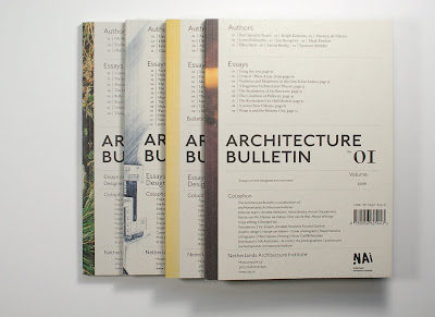 architecture bulletin designed environment essay