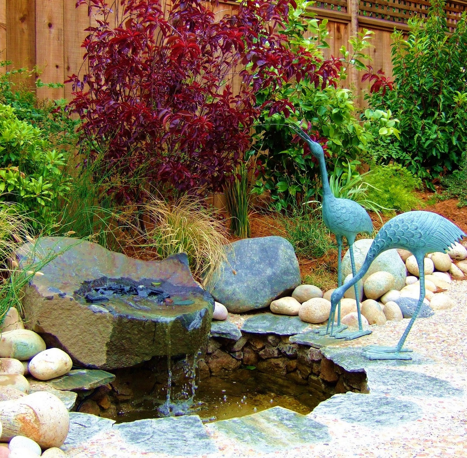 Liquidambar Garden Design Water In The Garden