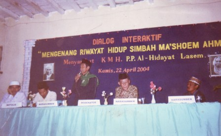 Dialog Interaktif Mengenang Mbah Ma'ashoem