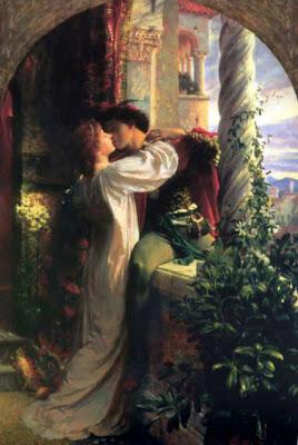 """""""Romeo y Julieta"""". Frank Dicksee, Mónica López Bordón, poesía, Editorial Playa de Ákaba"""