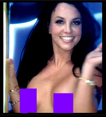 Spears Gimme More Topless Shots S Of Britney