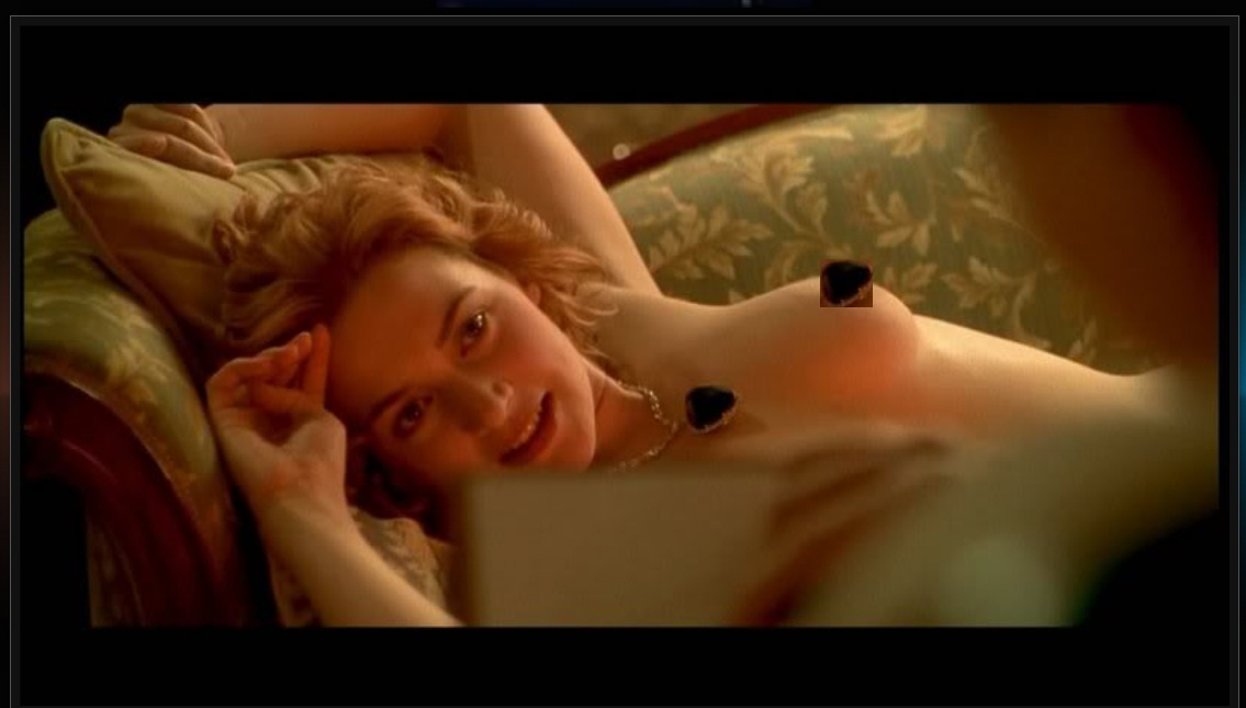 Even Kate winslet titanic boob