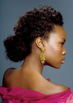 Natural Bun Hairstyles for Black Women