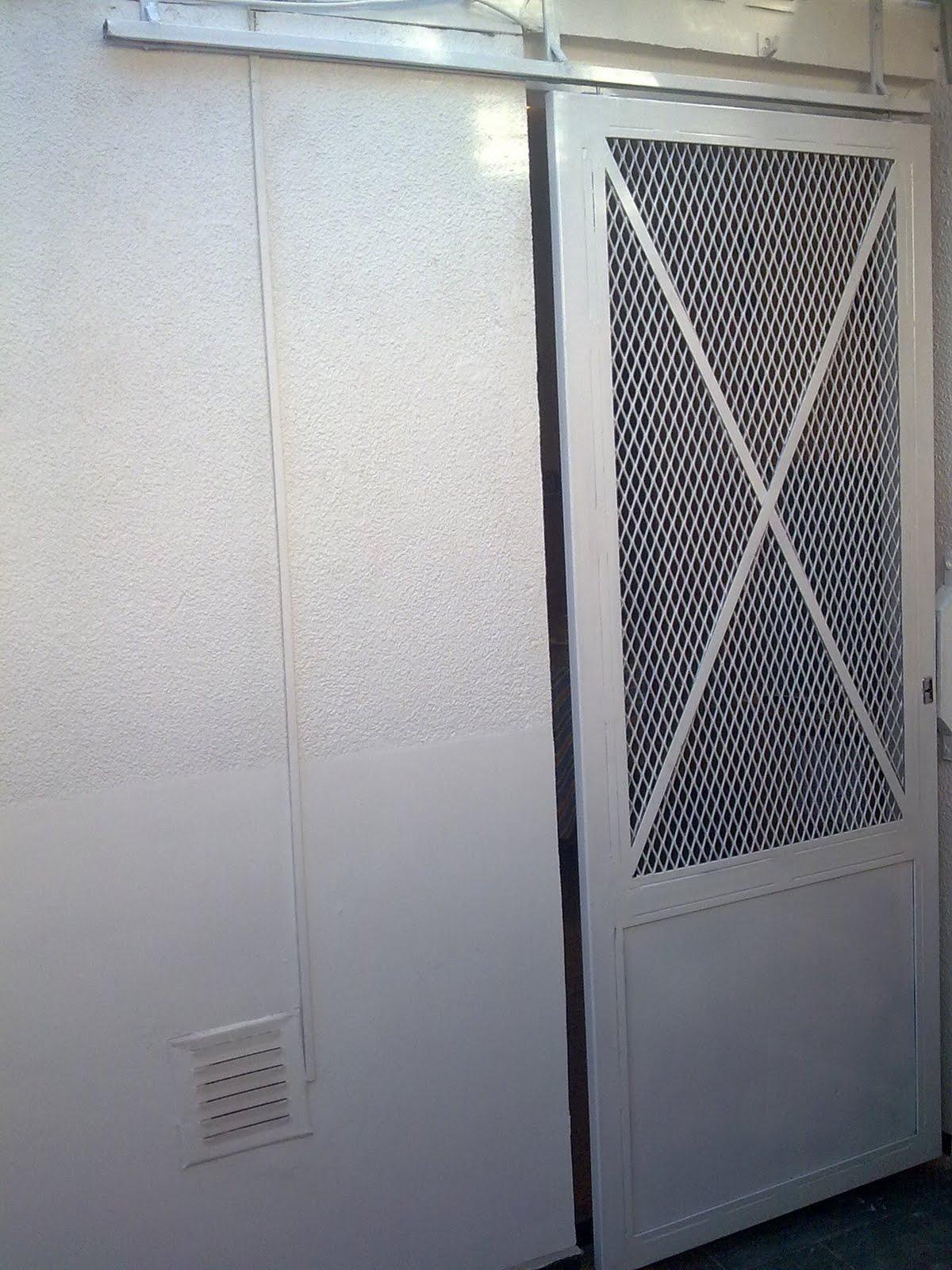 Eko metalurgica puerta reja modelo designe corrediza for Puertas corredizas de metal