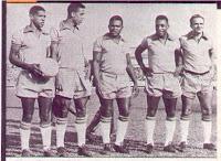 Dorval, Mengálvio, Coutinho, Pelé e Pepe