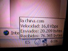 conexión a 16 kbps!!!