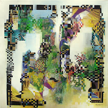 Acte II - Giverny - 80 x 80 cm - 2010