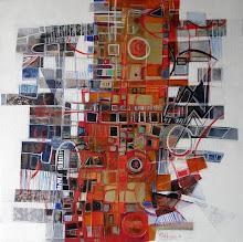 Babel V - 60 x 60 cm - 2008