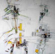 Quand l'Ange vient - 100 x 100 cm - 2007