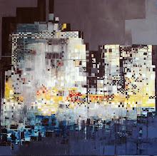 C'est la nuit - 100 x 100 cm - 2009