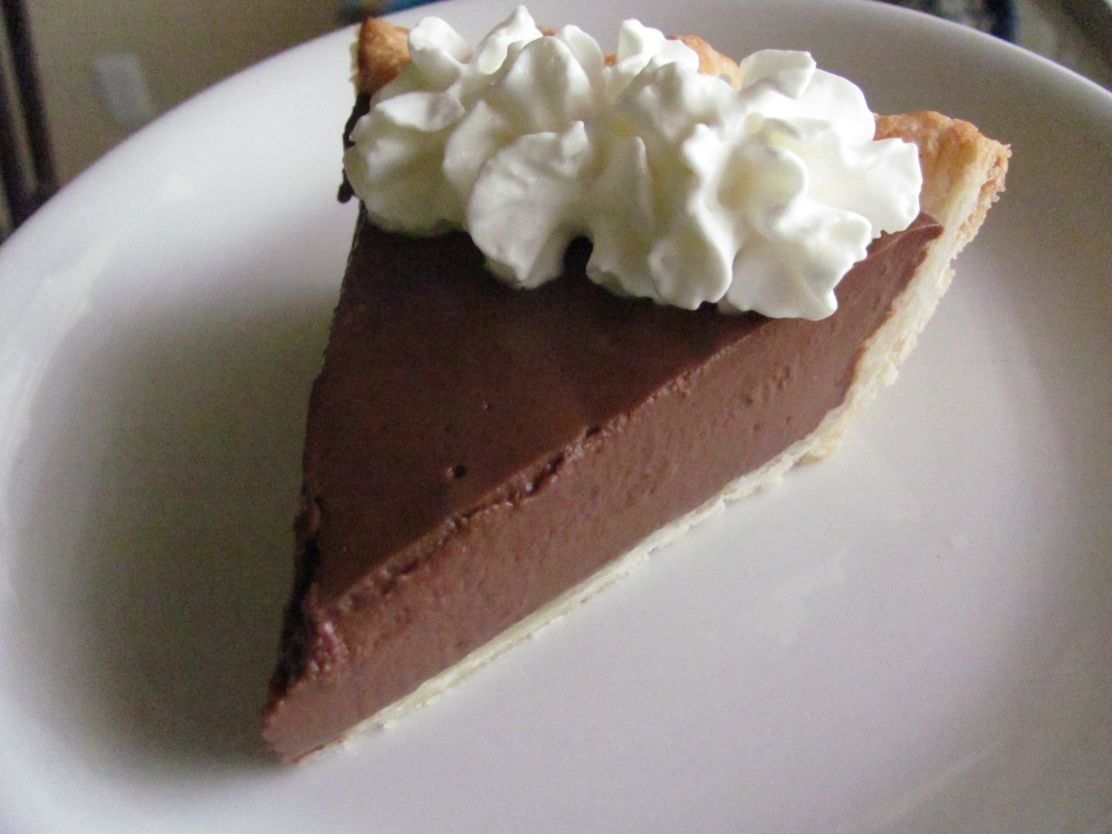 Chocolate Pudding Pie Chocolate pudding pie
