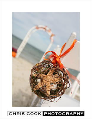 Audra David Fall beach wedding