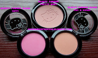 mac hello kitty beauty powder and beauty powder blush