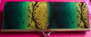 primark snakeskin clutch