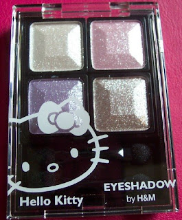 h&m sparkly hello kitty eyeshadow palette