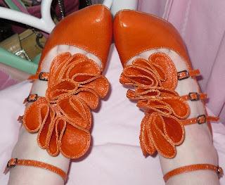 matalan orange heels