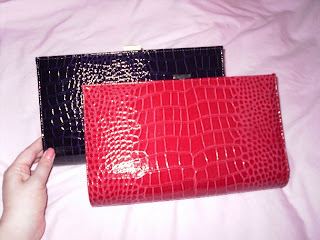 primark shiny clutches