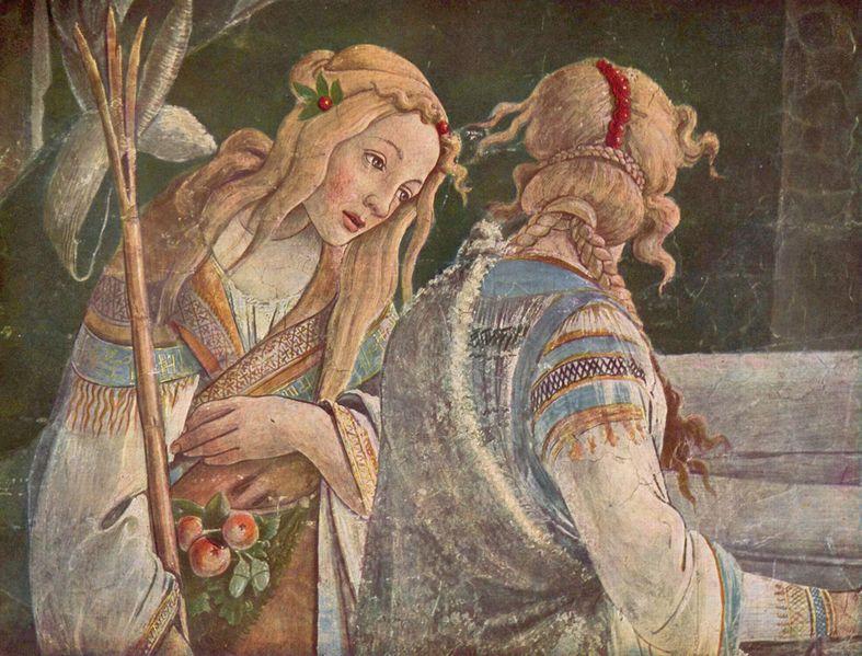 Zipporah Botticelli Sa...
