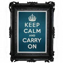 Mantenha a calma e continue.