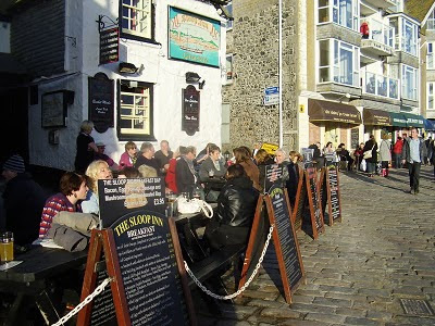 The Sloop Inn - St Ives Cornwall