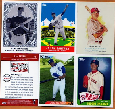 blog bat around  2009 hopes amp  fears in card collecting