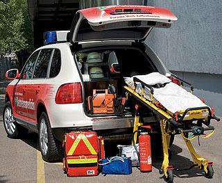 2007 Porsche Cayenne Emergency Vehicle 2