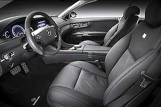 2007 Brabus SV12 S Biturbo CoupeMercedes-Benz CL 600 5