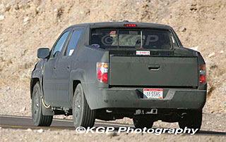 2009 Honda Ridgeline Spy Photos 2