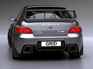 2007 Subaru Impreza WRX STI Concept Design by Lars Martensson 4