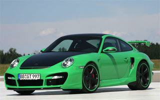 Porsche green