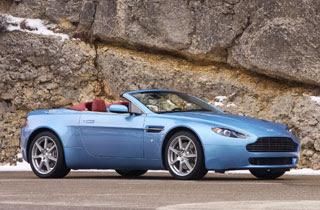 2007 Aston Martin V8 Vantage Roadster 2