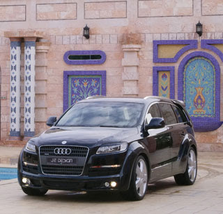 2007 JE Design Audi Q7 Wide Body Kit